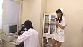 Misato Kuninaka, Asian nurse, drilled with toys