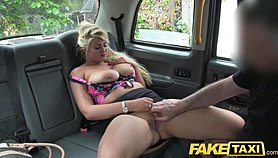 Fake Taxi Curvy blonde with huge tits and big arse